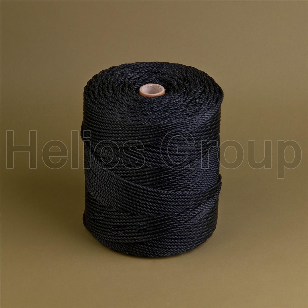 BLACK MONOFILAMENT CORD 100% HDPE