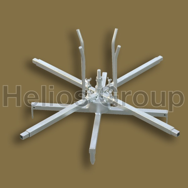 HOT GALVANIZED DECOILER WITH CLUTCH